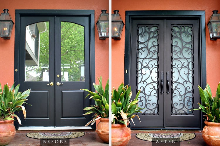 Iron Security Doors Add Beauty and Value to Any Home