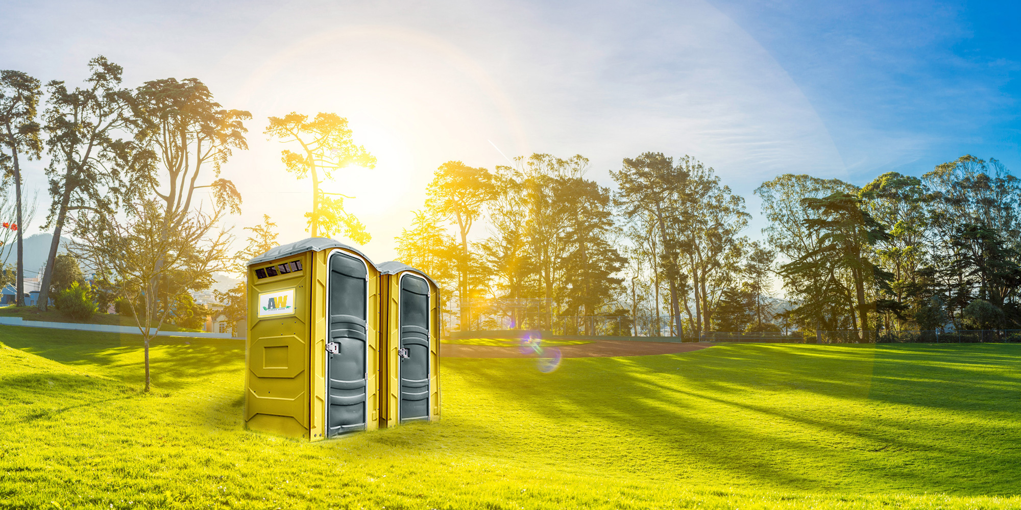 Discover the many advantages of renting a porta potty