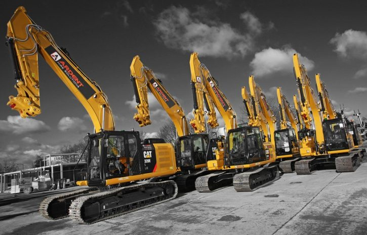 What equipment is available from plant to hire companies?